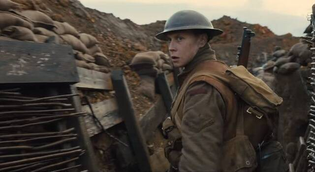 El tráiler de 1917 retrata la Primera Guerra Mundial de forma espectacular