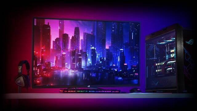 """El monitor de 43"""", 4K y 120Hz de ASUS saldrá a la venta por 1199 euros"""
