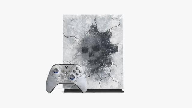 Así son la Xbox One  X, el teclado y ratón, los auriculares y el HDD de Gears 5