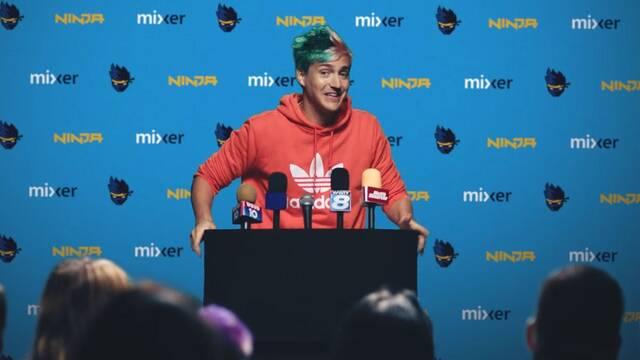 Ninja supera el millón de suscriptores en Mixer