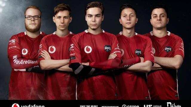 Vodafone Giants ficha a uno de los mejores equipos de Rainbow Six Siege