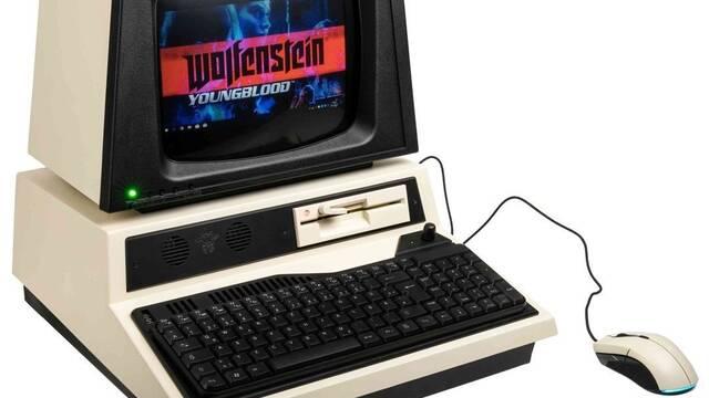 El PC Modding de los viernes: Un PC 'retro' de Wolfenstein Youngblood