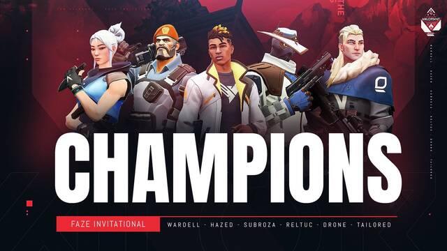 TSM se convierte en el campeón del FaZe Clan Valorant Invitational