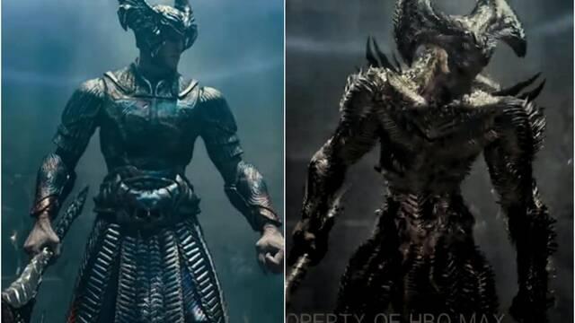 Liga de la Justicia: Revelado el aterrador nuevo diseño de Steppenwolf