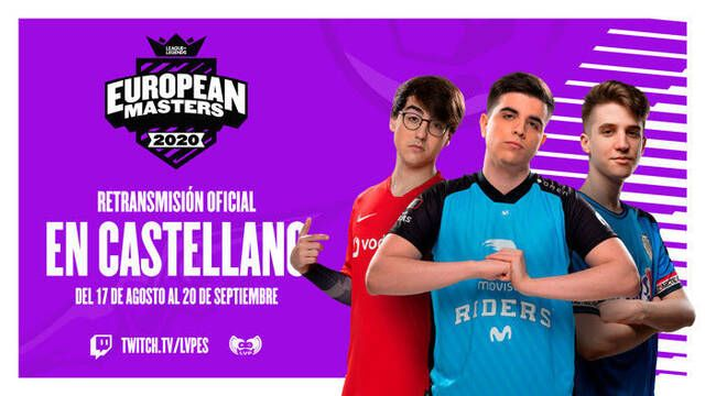 LVP retransmitirá en español la European Masters de League of Legends