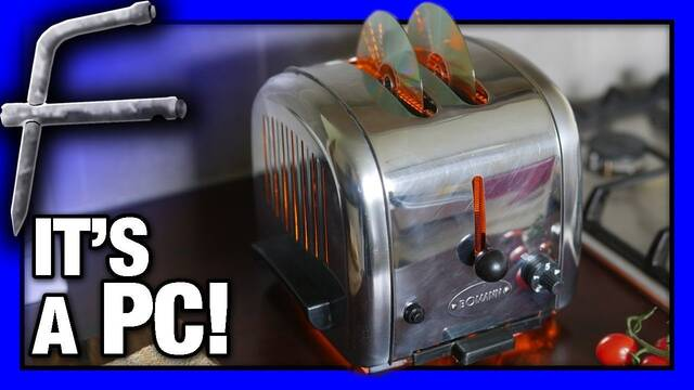 El PC Modding de los viernes: Una tostadora... literalmente