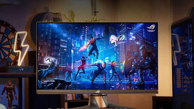ASUS presenta el monitor comercial de 360 Hz, el ROG Swift PG259QN