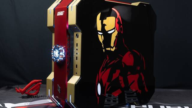 El PC Modding de los viernes: Iron Man