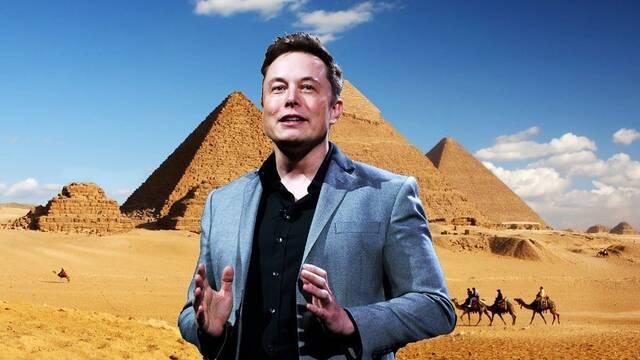 Elon Musk: 'Las pirámides fueron construidas por aliens', y Egipto responde