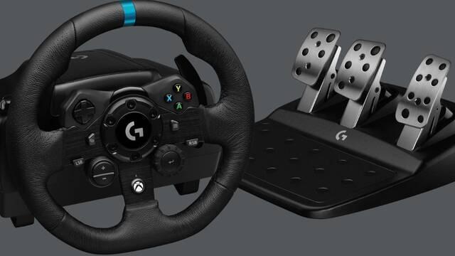 Logitech G presenta su nuevo volante de simracing G923