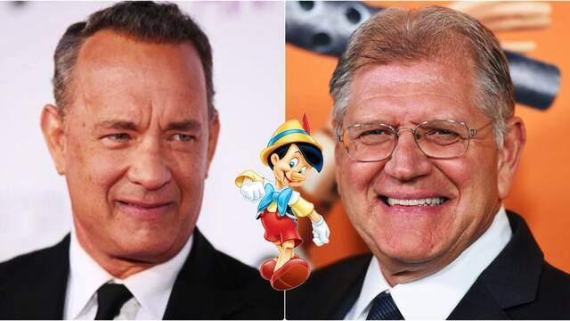 Pinocho: Tom Hanks podría trabajar con Robert Zemeckis una vez más