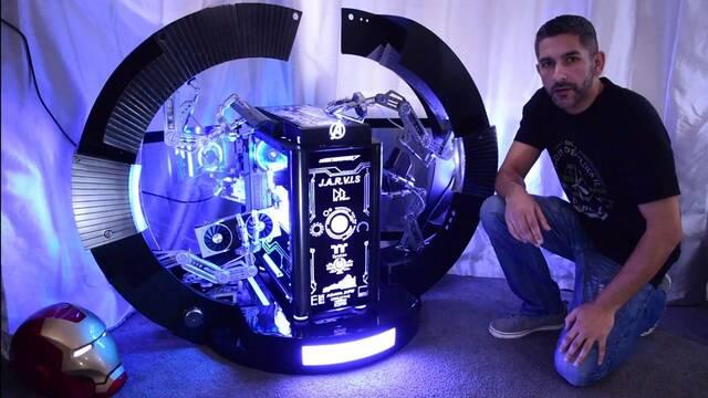 El PC Modding de los viernes: J.A.R.V.I.S. de Iron Man, convertido en ordenador