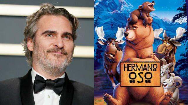 Hermano Oso: Joaquin Phoenix pretende salvar a los osos reales de la película de Disney