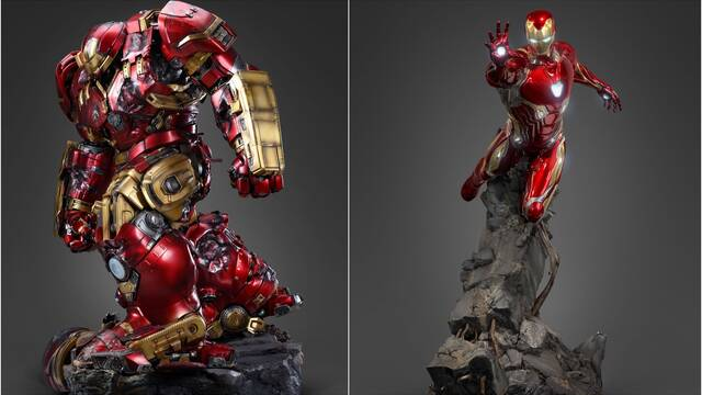 Iron Man: Así son las dos nuevas e impresionantes figuras de Marvel
