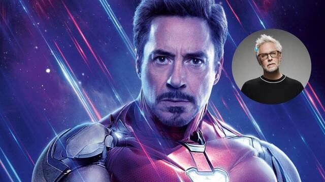 James Gunn contra los críticos: Cualquiera no puede interpretar a Iron Man
