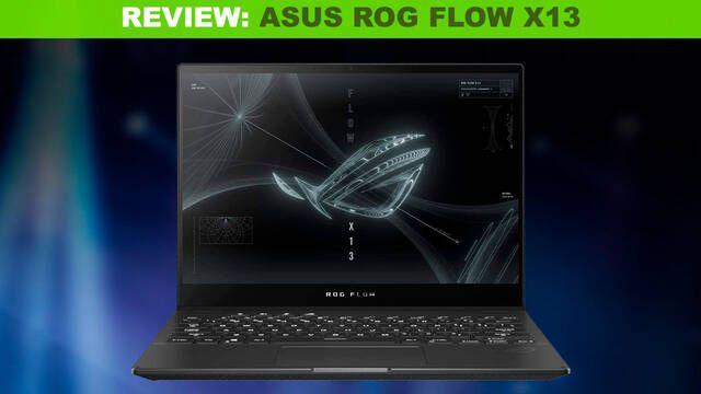 Análisis ASUS ROG FLOW X13, un portátil del futuro afincado en el presente