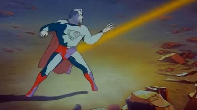 Superman: Una IA mejora el primer cortometraje animado del superhéroe