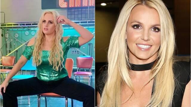 Rebel Wilson se convierte en Britney Spears para Senior Year