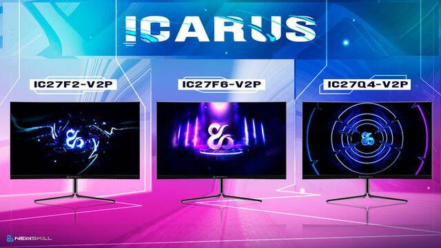 Newskill presenta sus nuevos monitores para jugar de hasta 240 Hz