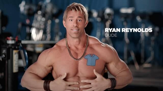 Ryan Reynolds muestra 'su entrenamiento' para Free Guy