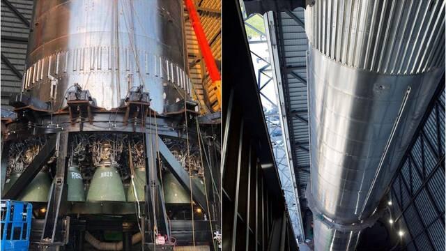 Starship Super Heavy: Primeras imágenes del cohete más tocho de SpaceX