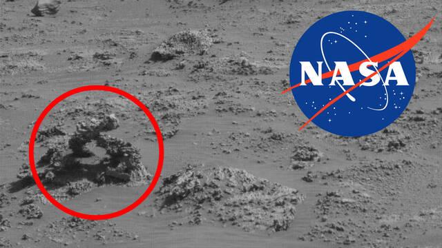 El rover Curiosity de la NASA descubre una extraña formación rocosa en Marte