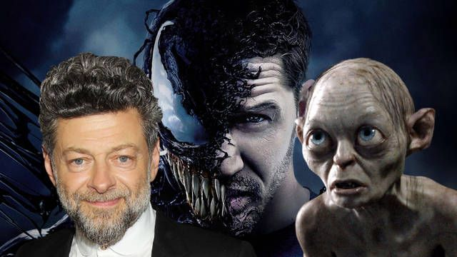 Andy Serkis compara a Venom con Gollum