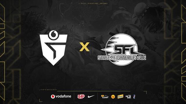 Vodafone Giants será el representante de España en la Street Fighter League