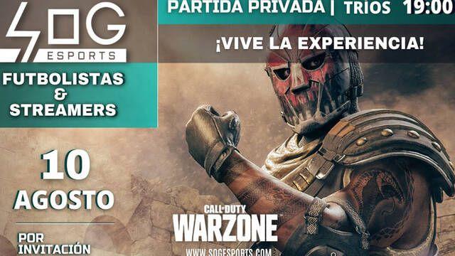 Ronaldo o Carvajal participarán en el torneo de Call of Duty: Warzone de SOG Esports