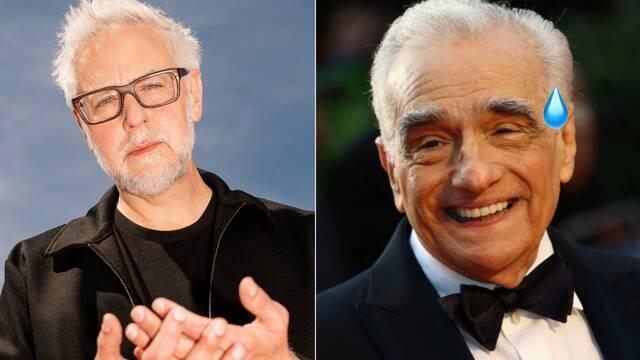 'Scorsese habló mal de Marvel sólo para promocionar su película', dice Gunn