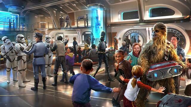Lujo galáctico: El hotel interactivo de Star Wars costará 4800 dólares por dos noches