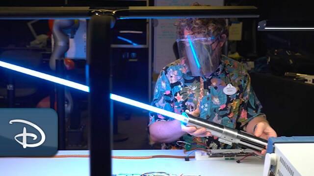 Star Wars: El sable de luz 'real' muestra un nuevo y espectacular vídeo