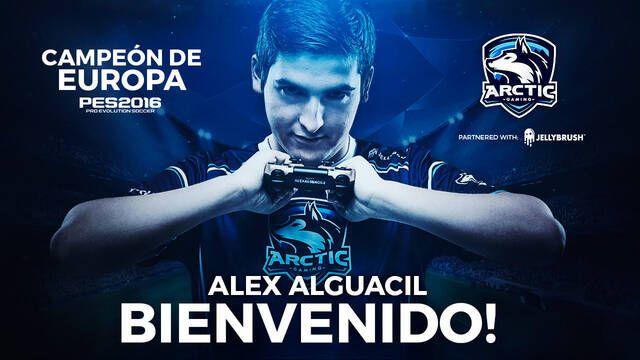 Alex Alguacil, campeón de Europa de PES, ficha por Arctic Gaming