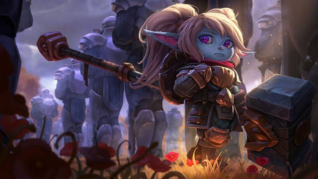 Construyen el martillo de Poppy de League of Legends en la vida real