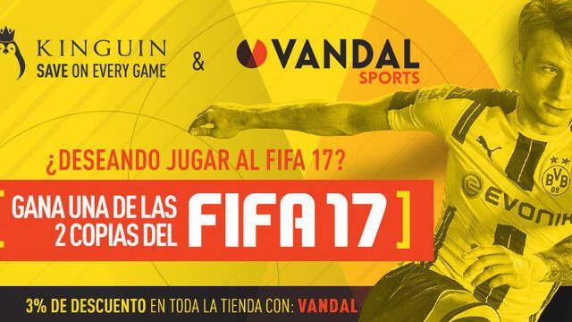 Sorteamos en colaboración con Kinguin 2 claves de FIFA 17 para PC