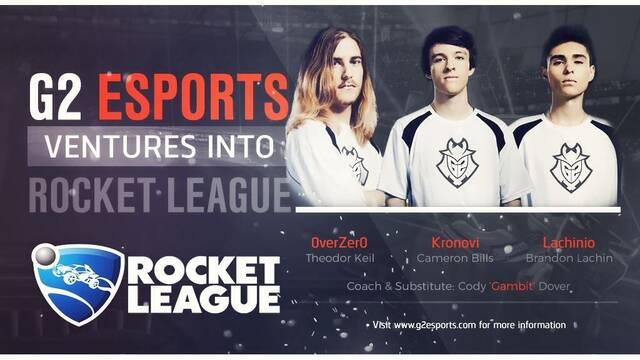 G2 se hace con el equipo campeón del mundo de Rocket League
