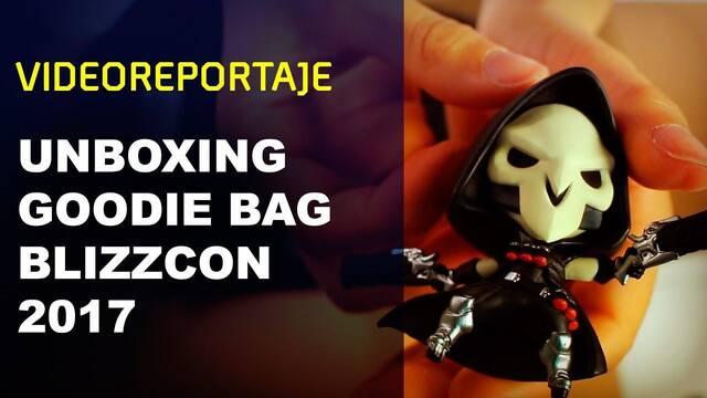Unboxing del Goodie Bag de la Blizzcon 2017