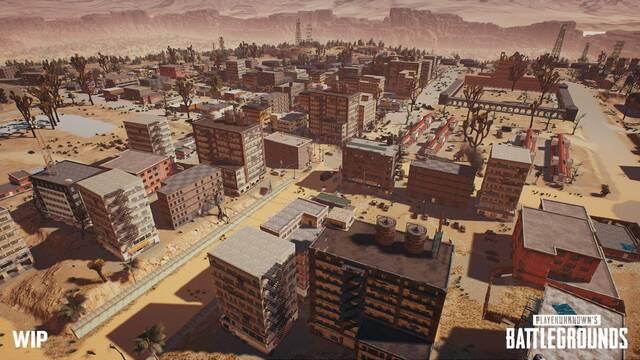 PUBG: Sale a la luz el mapa de su nuevo escenario en el desierto
