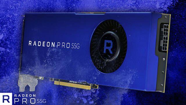 Radeon Pro SSG, la gráfica de 7000 dólares de AMD con un disco SSD de 2TB en su interior
