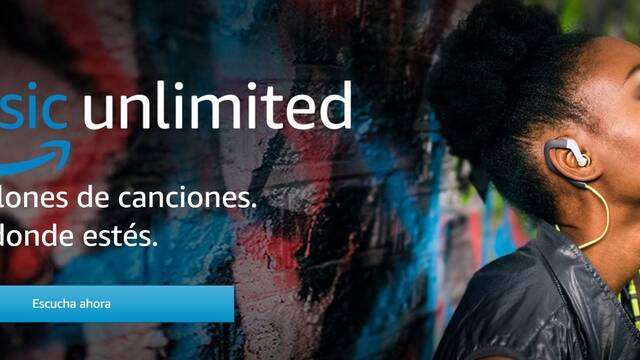 Amazon estrena en España Amazon Music Unlimited, su Spotify con 50 millones de canciones