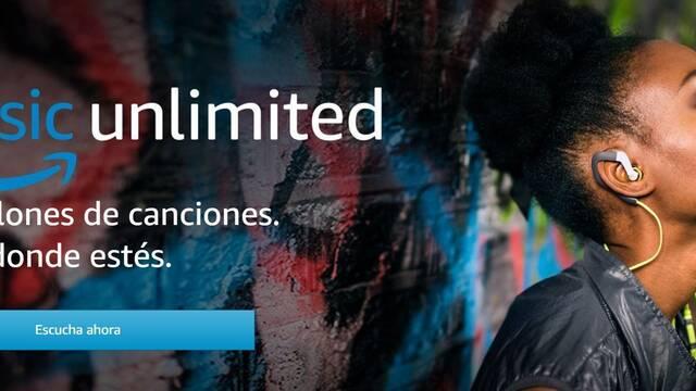 Amazon estrena en España Amazon Music Unlimited, su Spotify con 50 millones de canciones