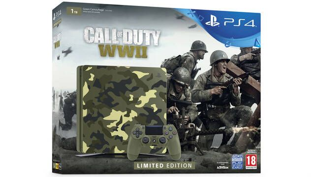 Así es la PlayStation 4 especial de Call of Duty: WWII