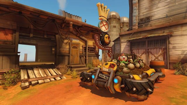 Junkertown no estará disponible en el competitivo de Overwatch hasta la semana que viene
