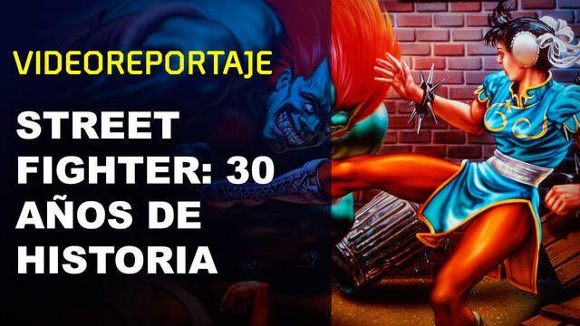 Repasamos los 30 años de historia de Street Fighter