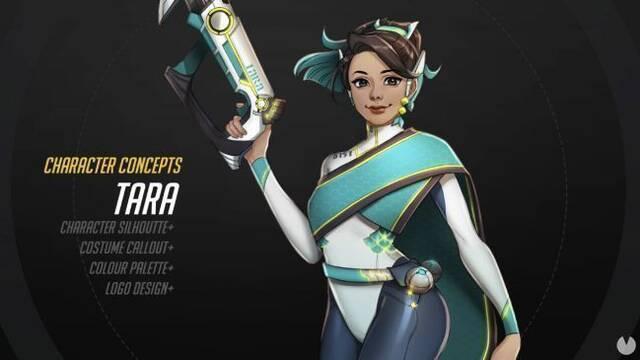 Tara, la heroína de Overwatch creada por un fan que sorprende a Blizzard
