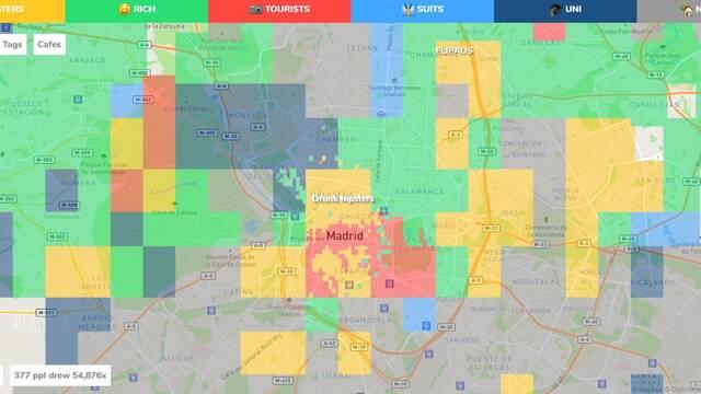 Hoodmaps, la web colaborativa que divide las ciudades en barrios