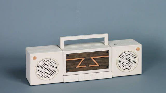 Zette System, la consola retro de 2399 euros con look de radio casette