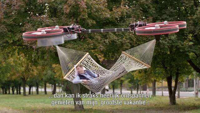 La hamaca definitiva existe y es holandesa