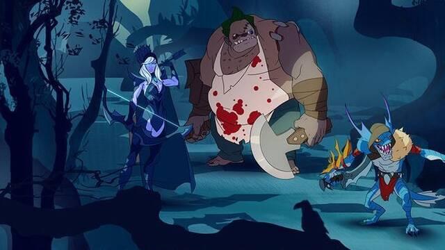 Un ex empleado de Valve muestra los bocetos de una serie de televisión de DOTA 2