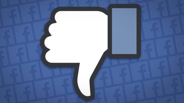 Facebook comienza a sufrir fallos y caídas en España